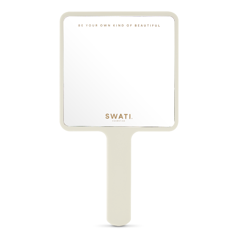 SWATI High Quality Glass Hand Mirror for makeup